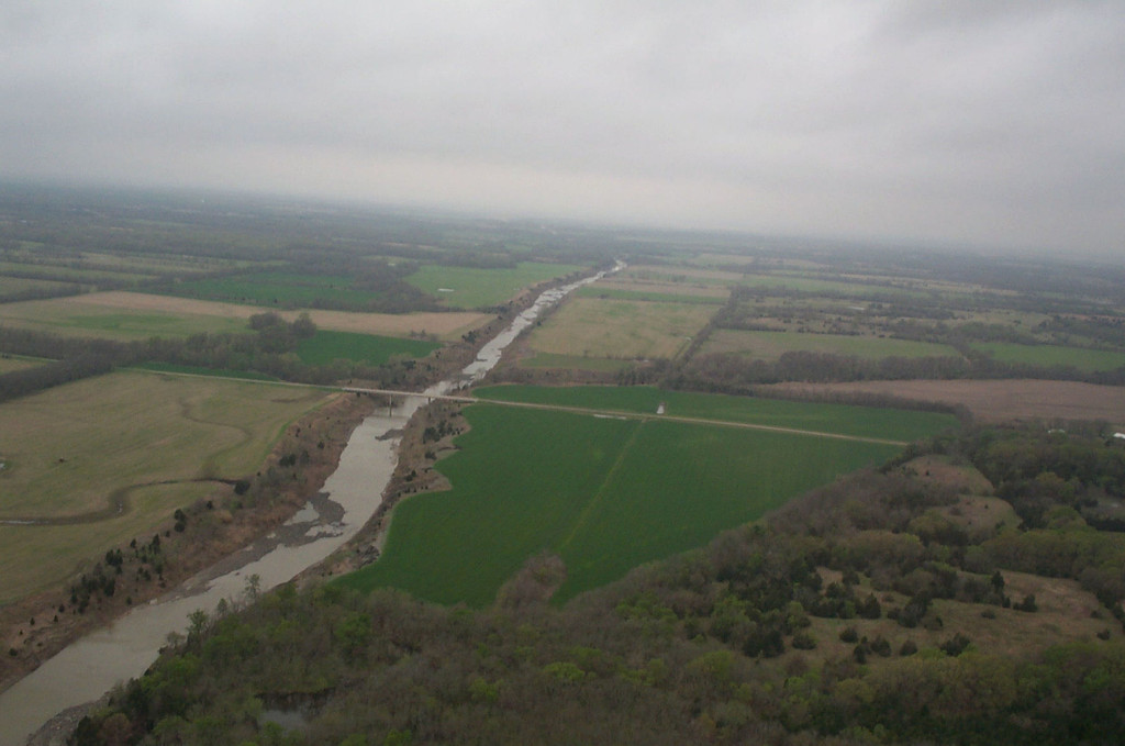 Arial View Fossil Park