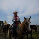 Nancy K other TX riders in Bowie Co w Best of America by Horseback TV Show June 2013